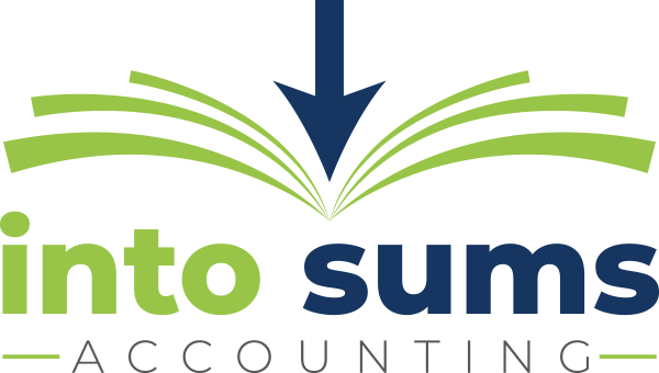 IntoSums Accounting Logo Design