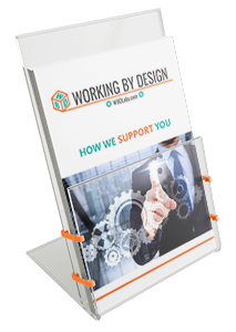 Working By Design Leaflet Design