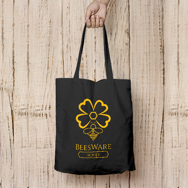 BeesWare Branded Shopping Tote