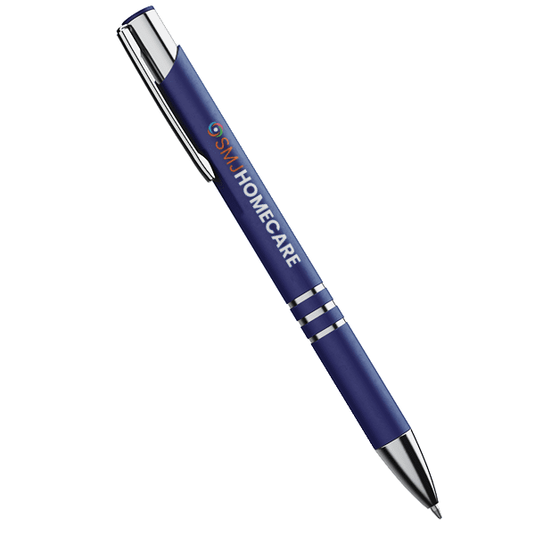 SMJ Homecare Branded Pen Design